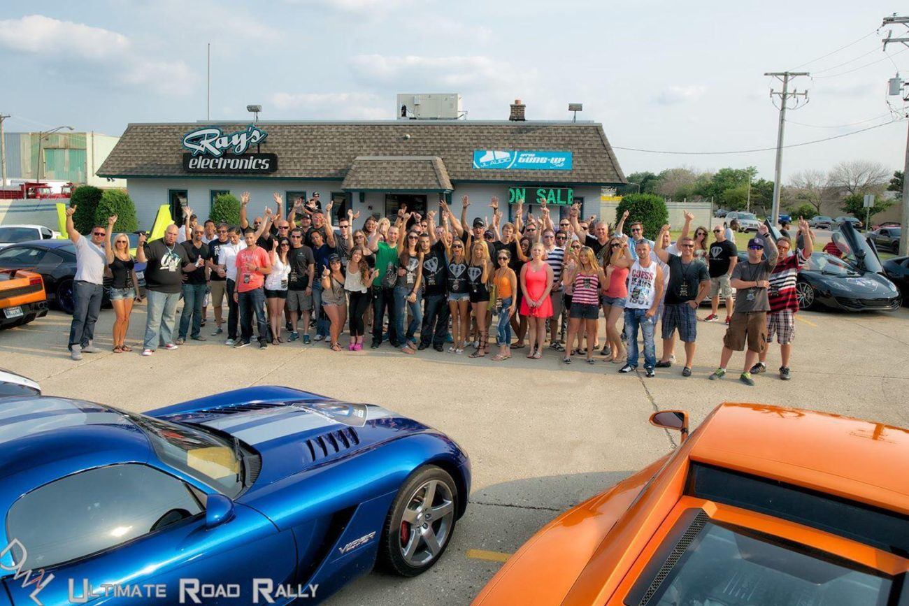 The Ultimate Road Rally family - 2014