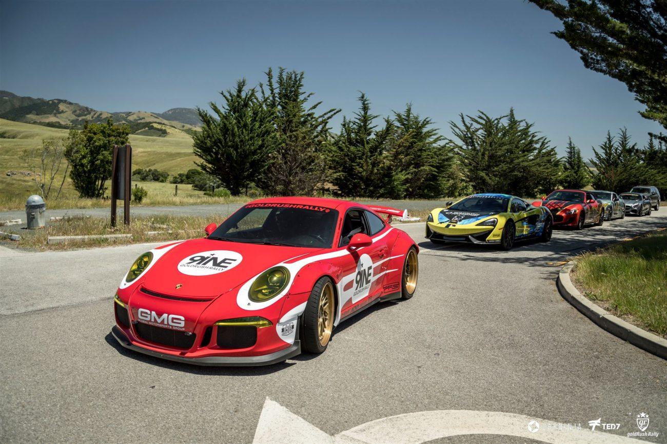 Libertywalk Widebody Porsche GT3 GoldRush Rally 9ine