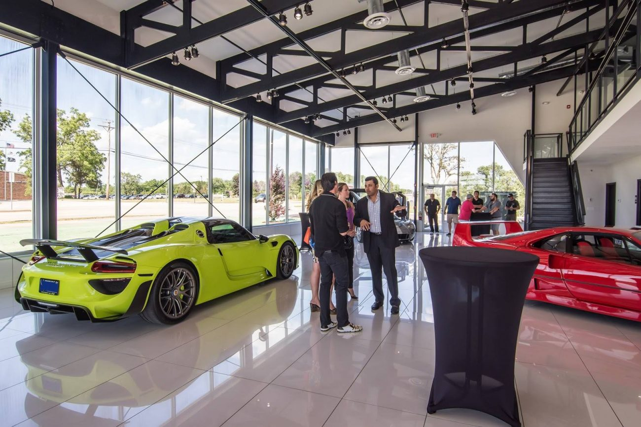 Chicago Motor Cars >> Chicago Motor Cars Jewelry Box Ribbon Cutting Party Arne S