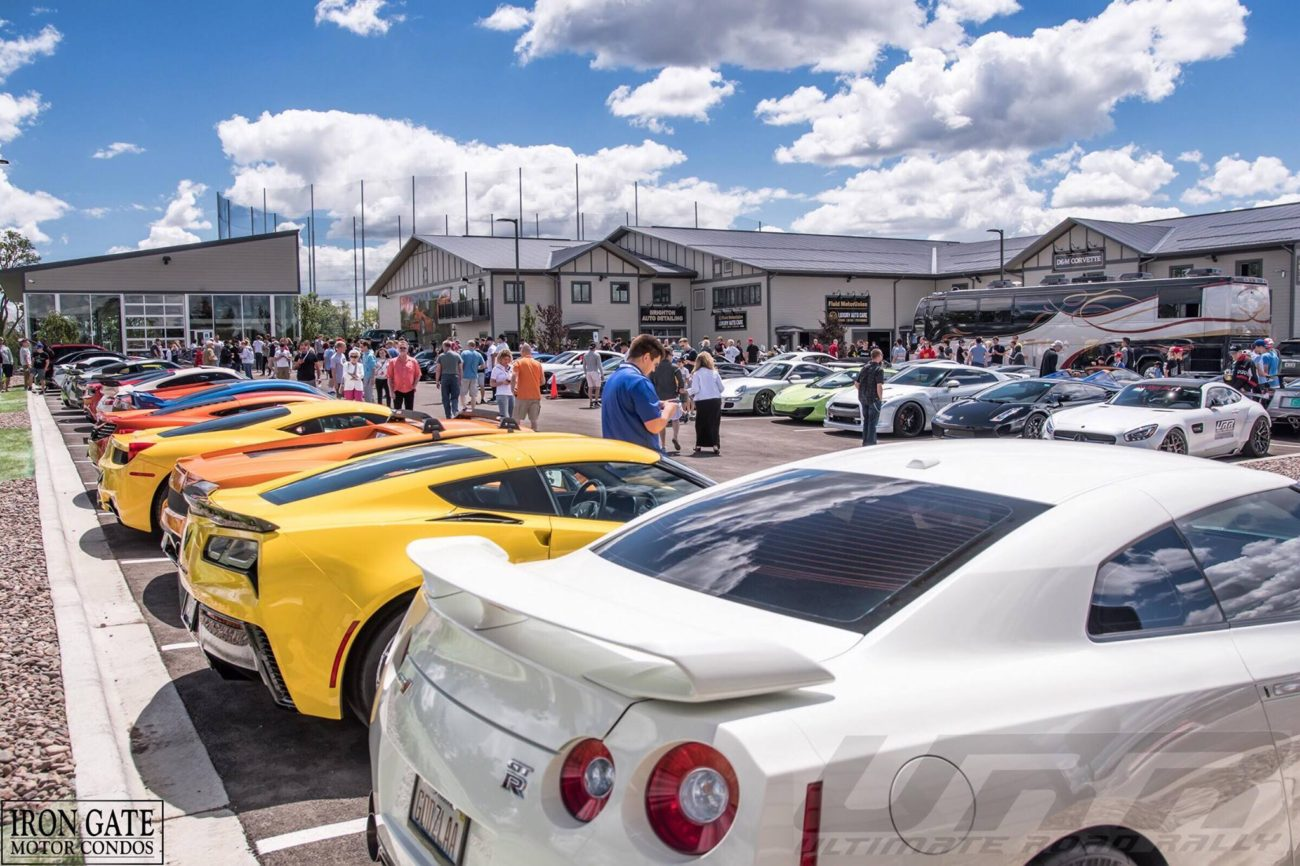 URR teams staged at Iron Gate Motor Condos