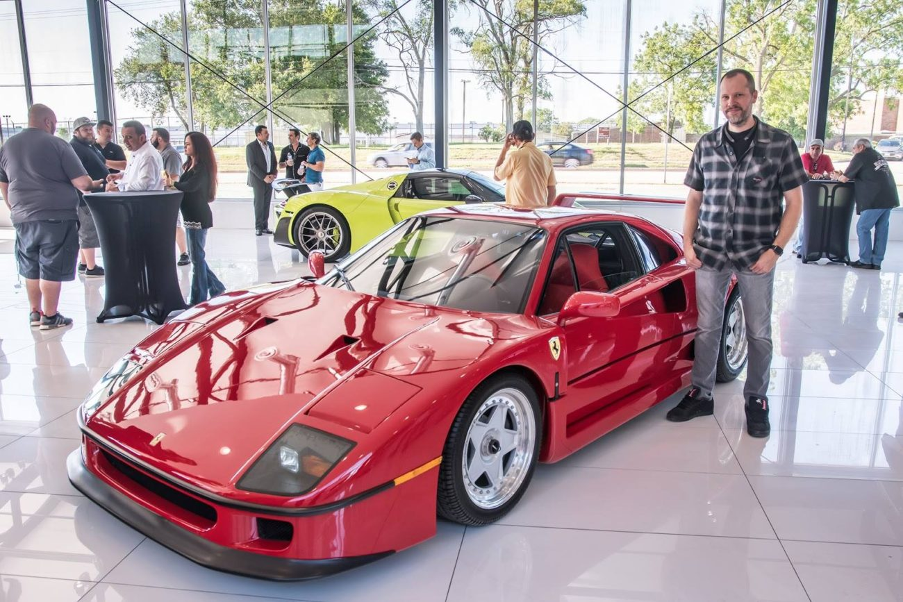Ferrari F40 Chicago Motor Cars Jewelry Box