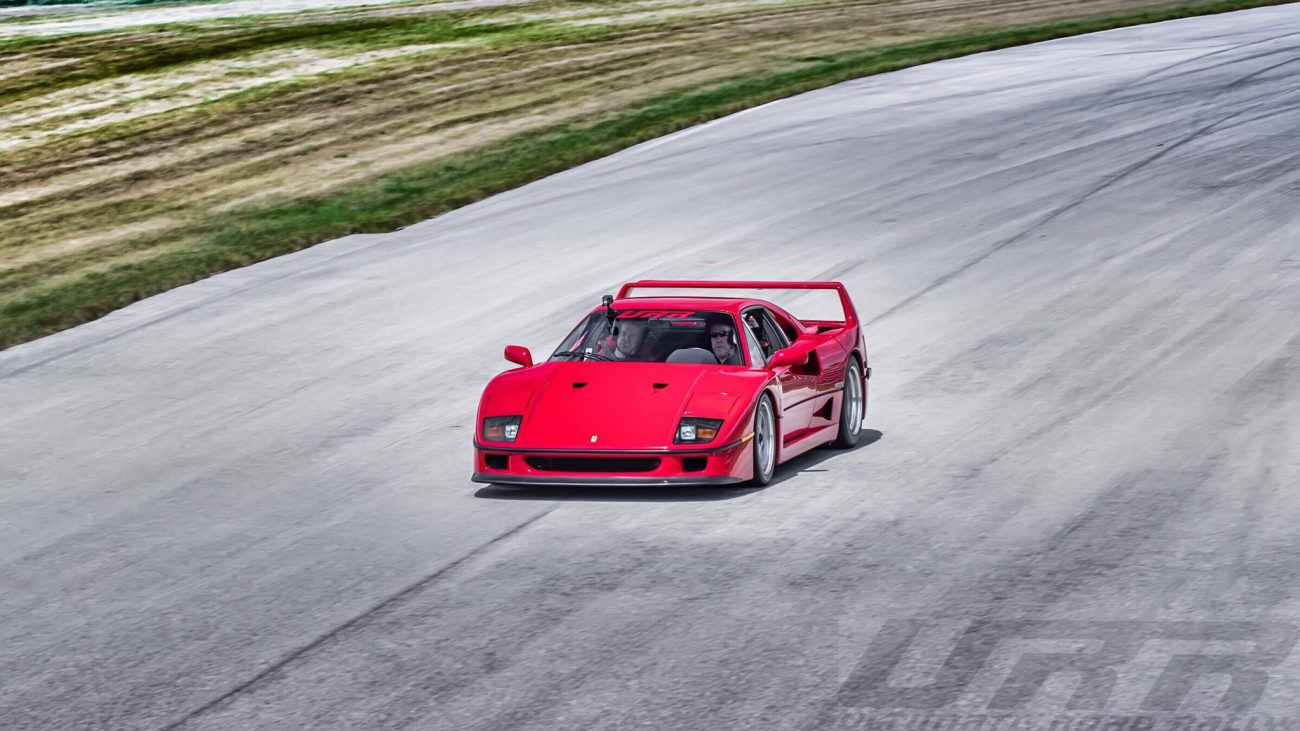 Arne, A Ferrari F40 & The Ultimate Road Rally Track Day CarBQ
