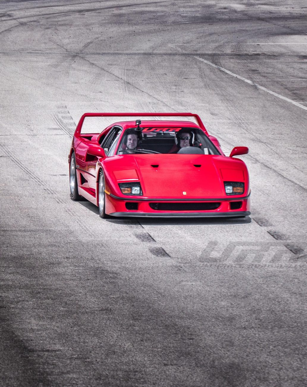 Arne's Antics Ferrari F40 Ultimate Road Rally Track Day CarBQ