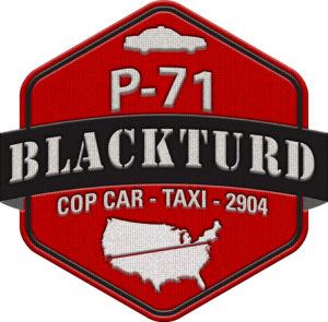 Team P-71 Blackturd logo