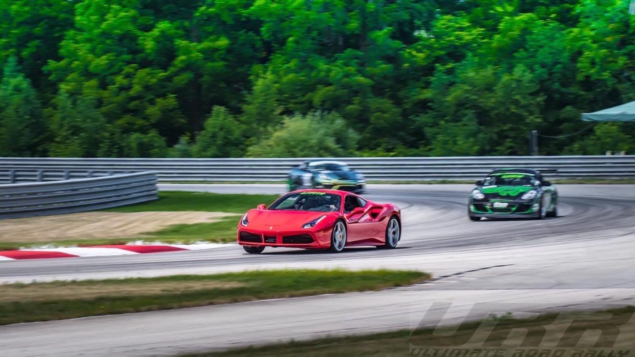 Ultimate Road Rally Track Day Autobahn Country Club