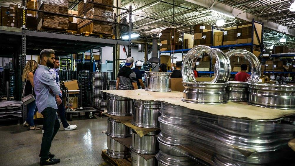 B-Forged Wheels factory tour