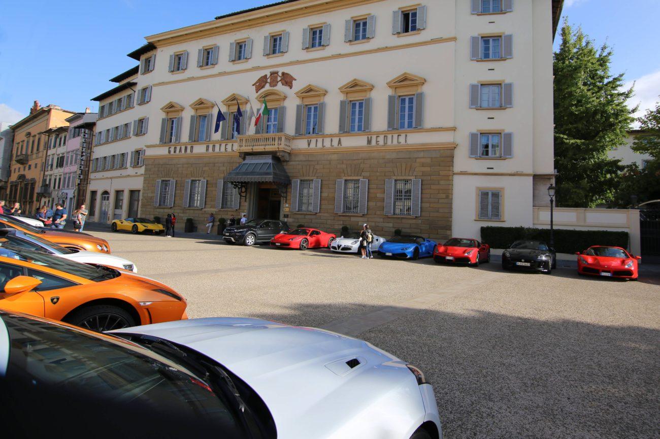 Sina Villa Medici Hotel, Florence Italy Adventure Drives AD.04 Arne's Antics