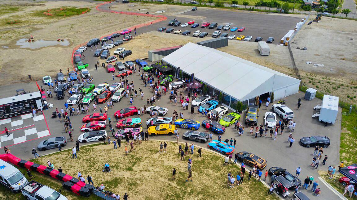 GoldRush Rally GRX M1 Concourse