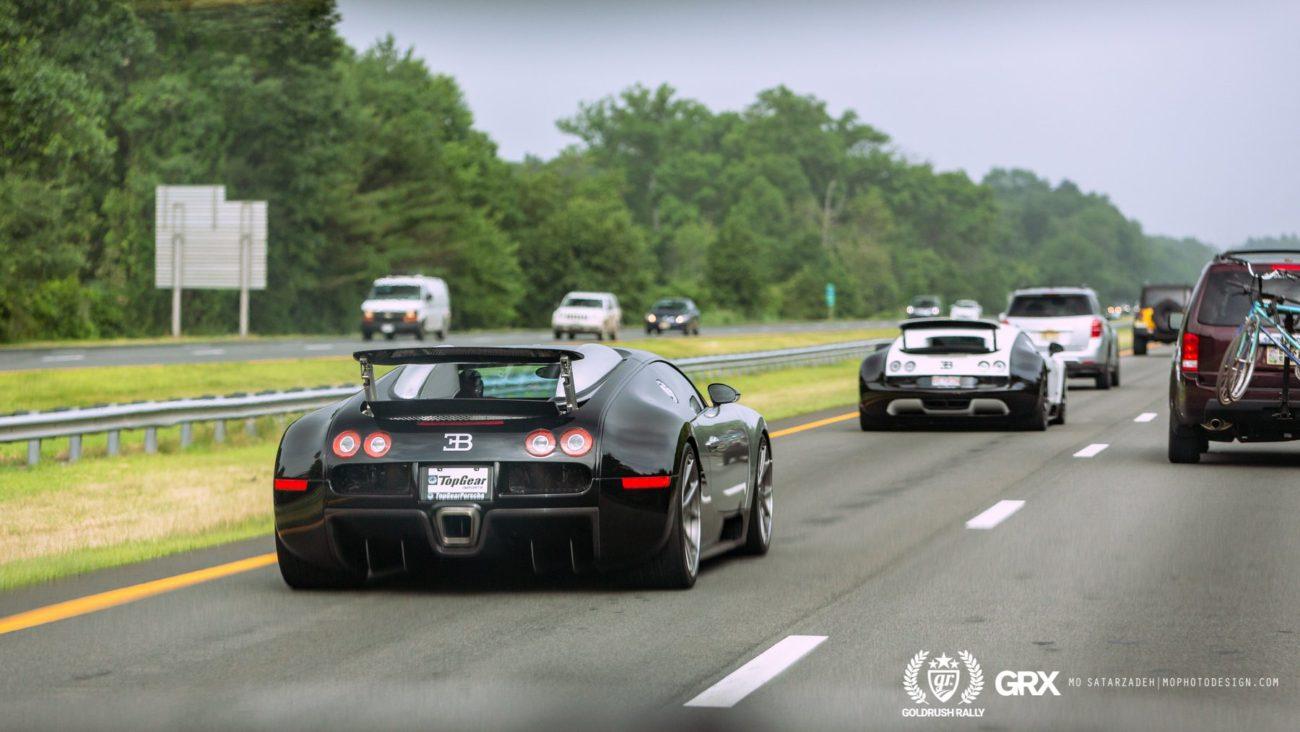 Bugatti Veyron SS Ben Chen GoldRush Rally GRX Arne's Antics
