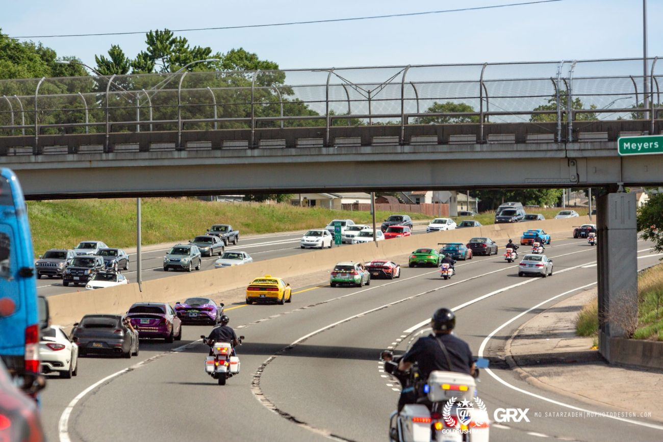 I-70 on lockdown for goldRush Rally