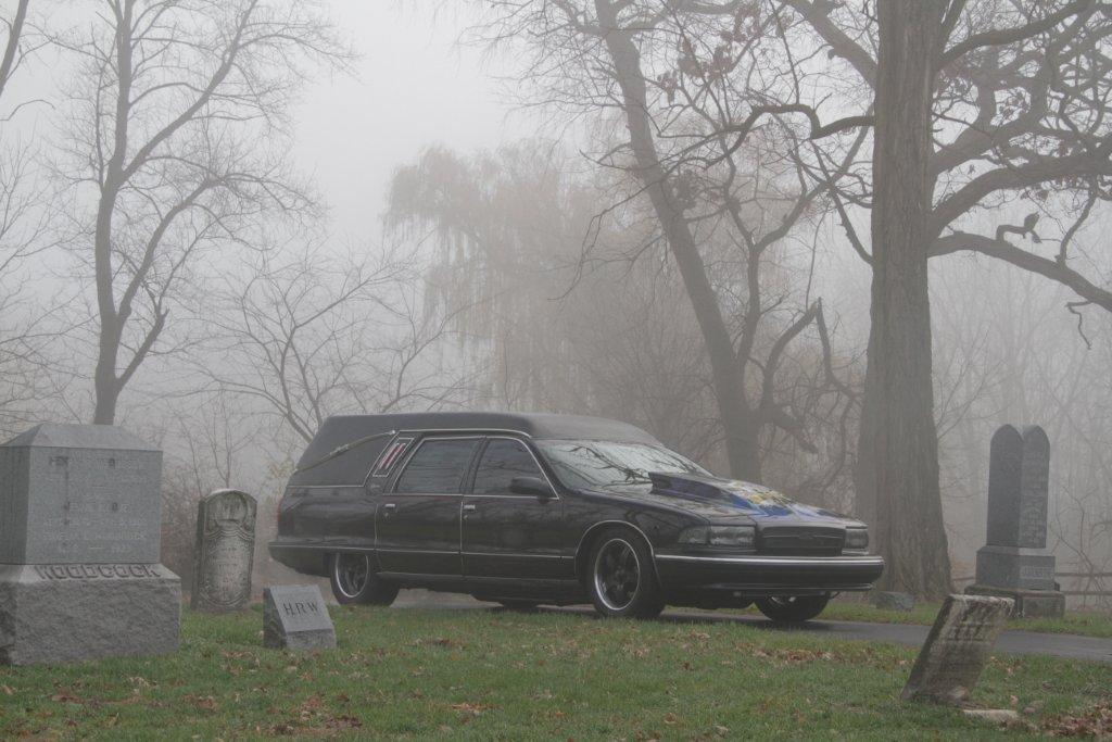 Madness the world's quickest and fastest Hearse