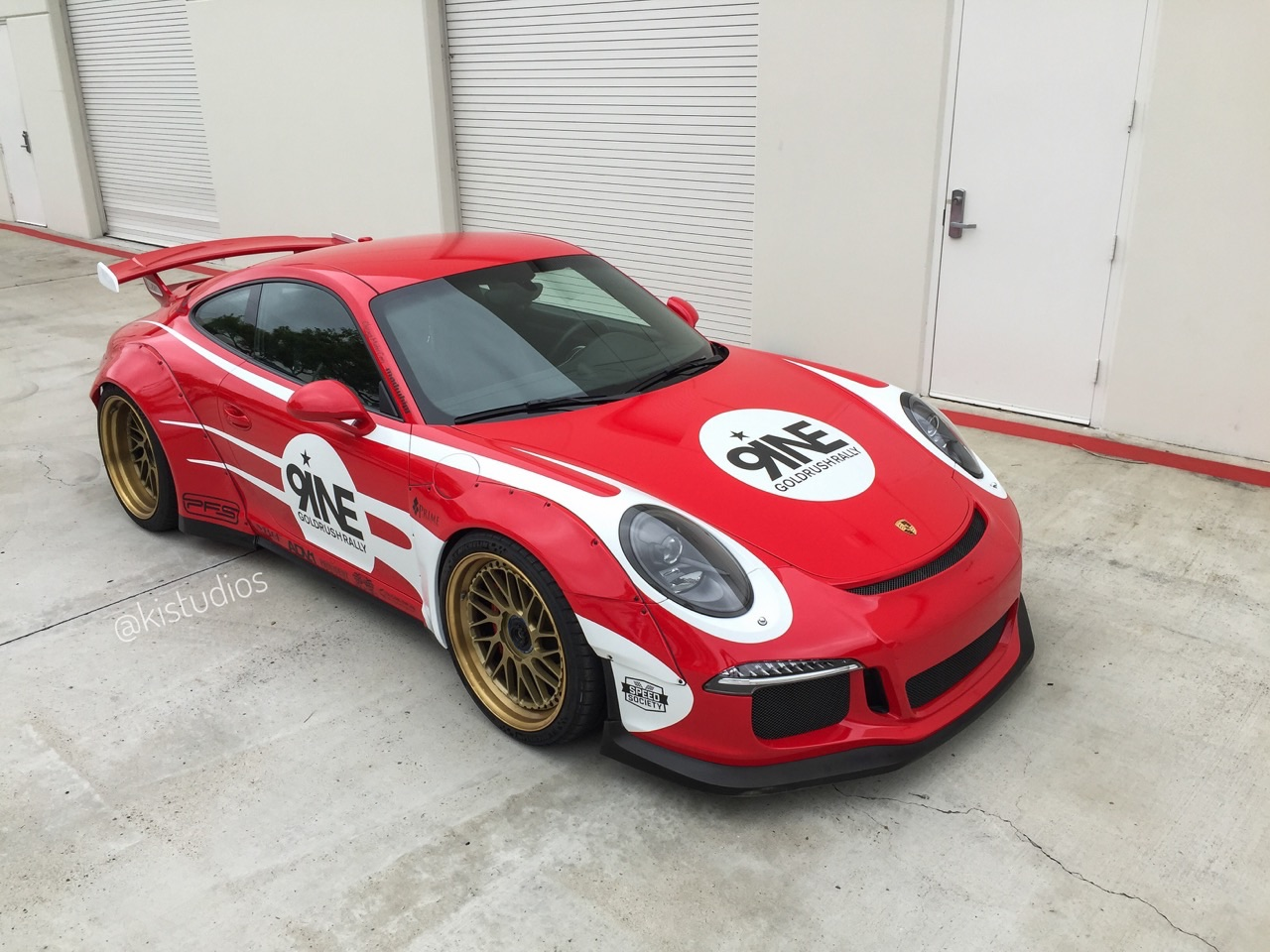 Platinum Motorcars Detroit Libertywalk Widebody Porsche 991 GT3