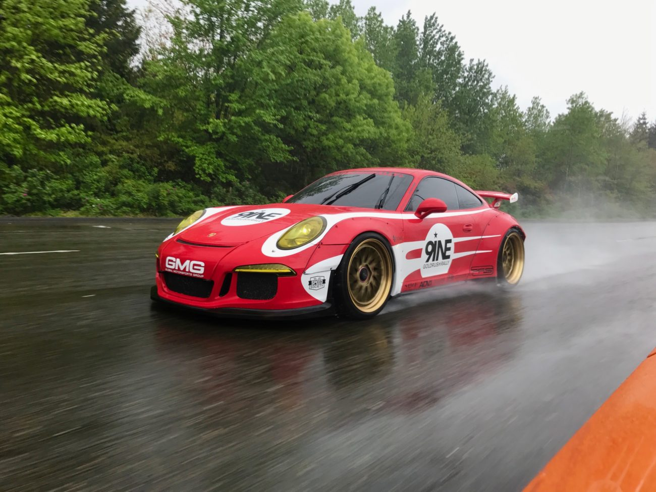 Platinum Motor Cars Detroit Libertywalk Widebody Porsche GT3 on GoldRush Rally 9