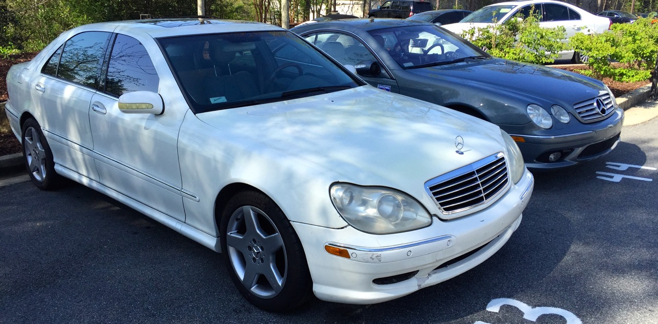 Ed Bolian's 2002 S55 AMG for the 2904
