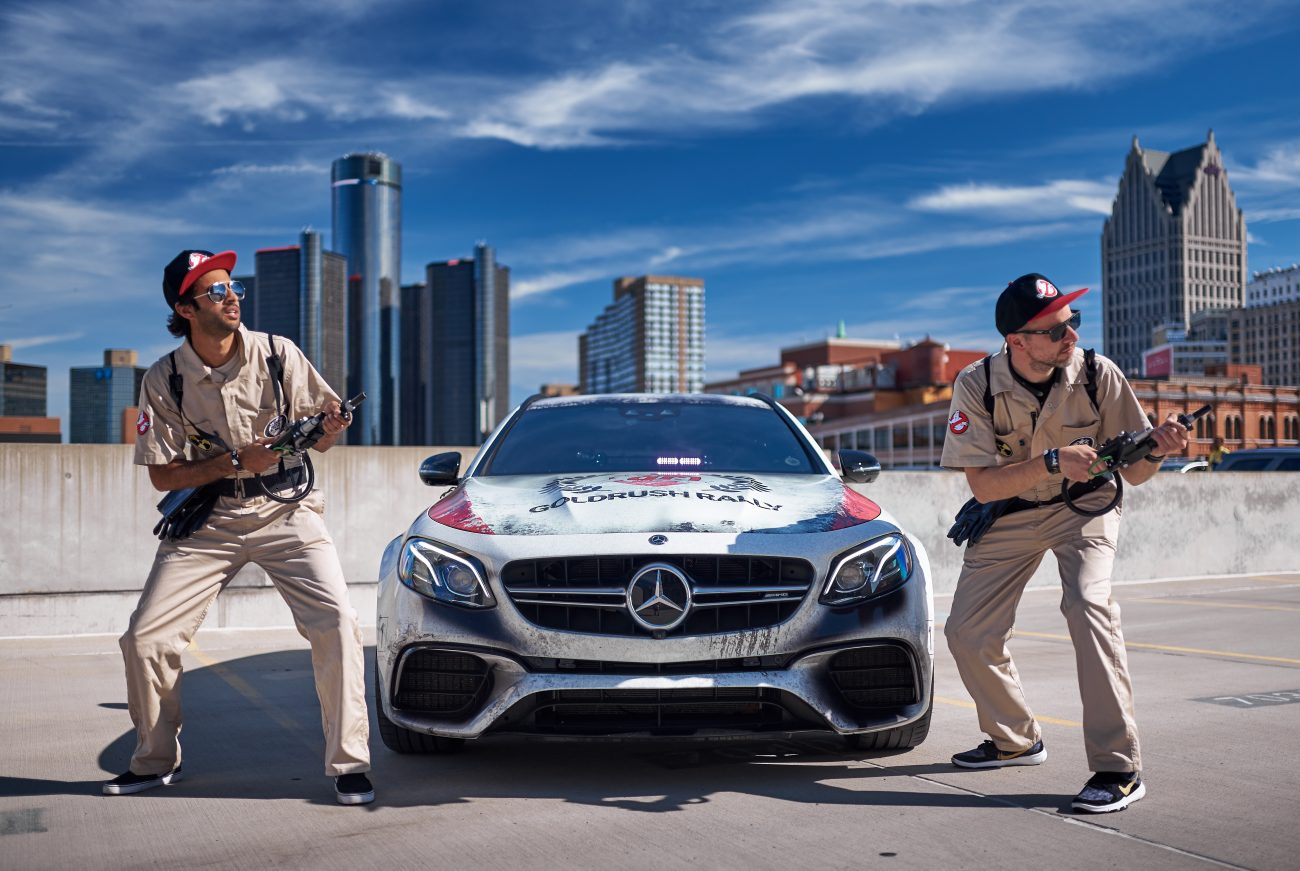 Ghostbusters Take On The Promised One – goldRush Rally GRX
