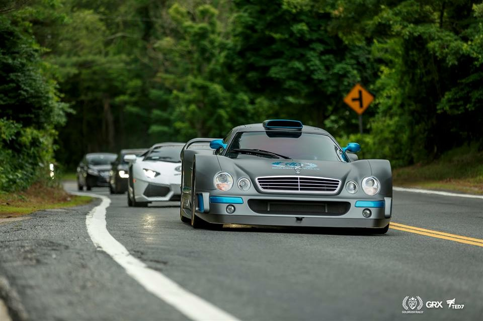 Mercedes-Benz CLK GTR Ben Chen Arne's Antics Goldrush Rally