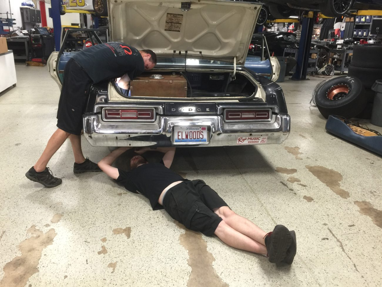 Arne's Antics LS swapped Bluesmobile for the C2C Express Cannonball Run