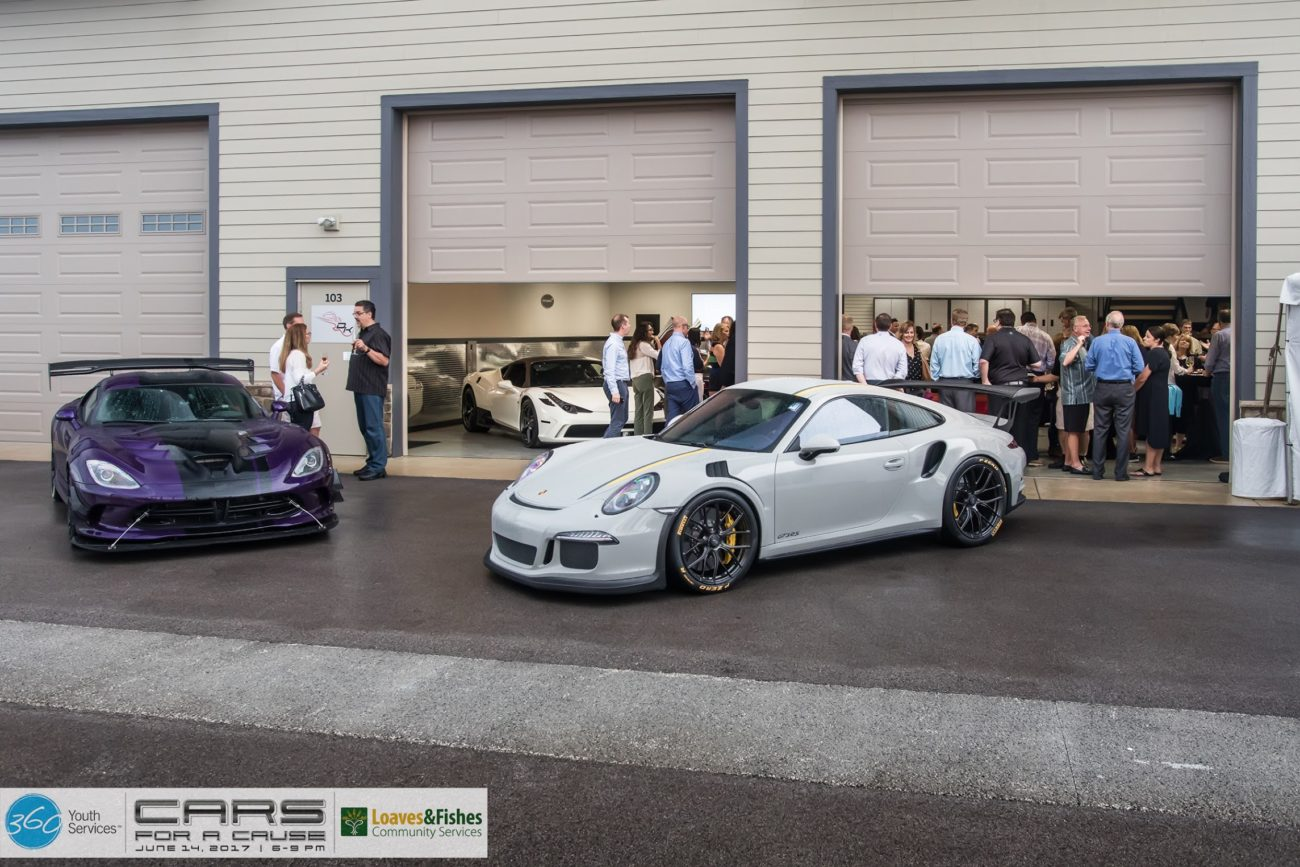 Stryker Purple Dodge Viper ACR & Fashion Grey Porsche GT3RS bought put by Chicago Motor Cars