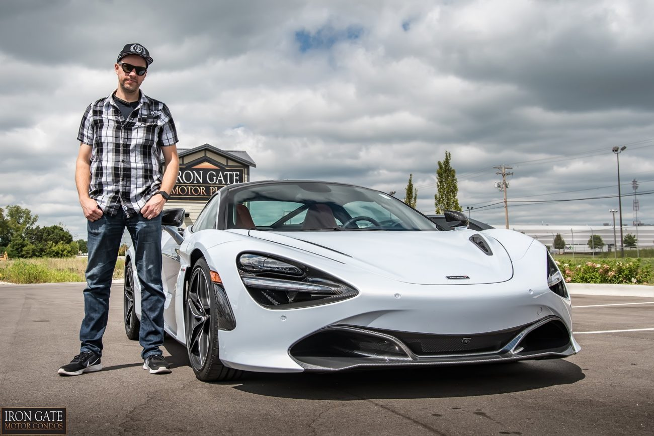Chrome, Coffee and the McLaren 720S