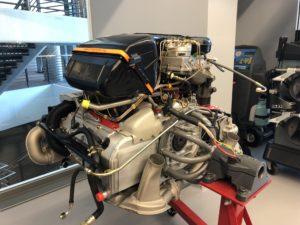 Porsche Factory Restoration Center Arne's Antics Tour 1989 911 Turbo Engine