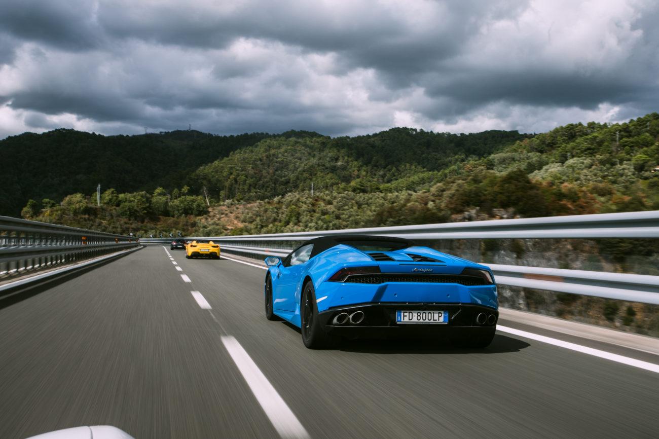 Heading into Sestri Levante on the Italian Riviera Adventure Drives AD.04