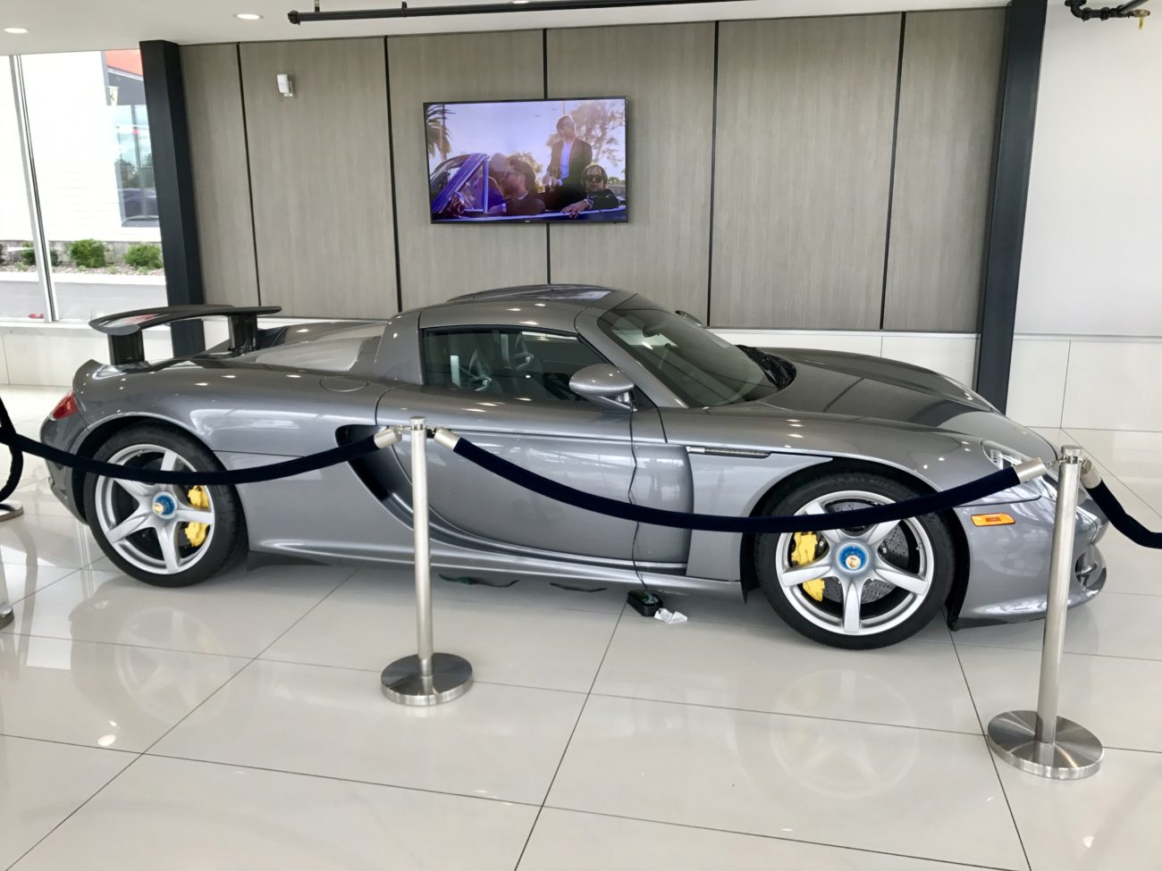 Porsche Carrera GT - Chicago Motor Cars Jewelry Box - Iron Gate Motor Plaza