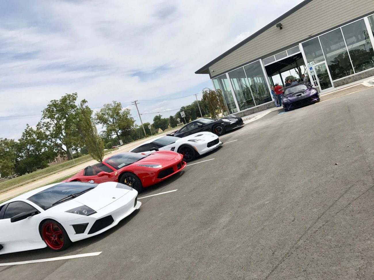 URR crew at Chicago Motor Cars Naperville