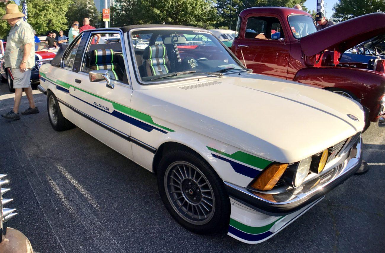 1976 E21 BMW Alpina C1 2.3 Baur TopCabriolet