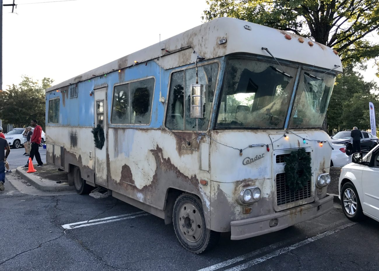 Cousin Eddie's 1972 Ford Condor RV from the Nation Lampoons Christmas Vacation