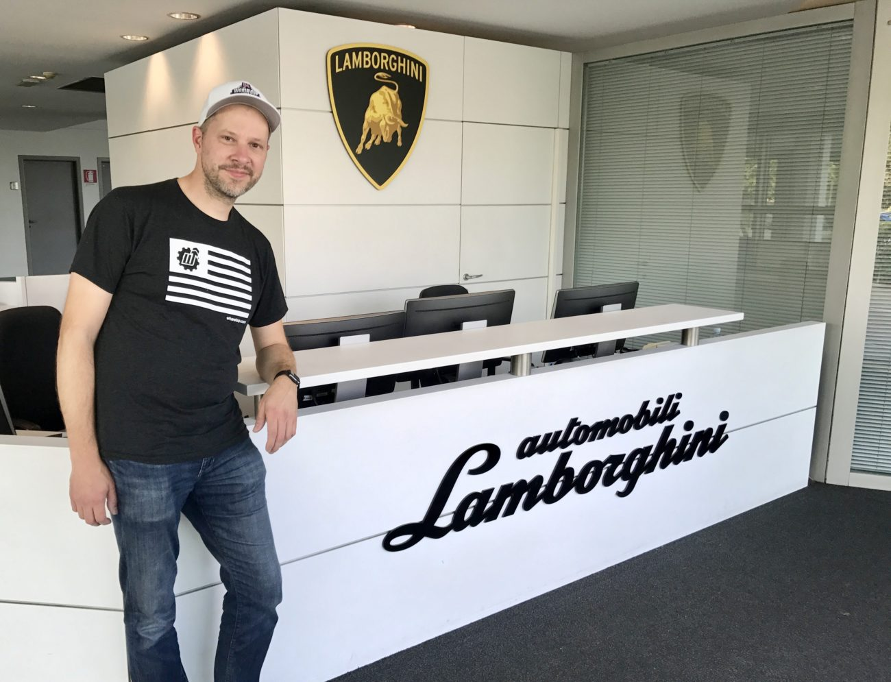The Lamborghini Factory Adventure Drives AD.04 Arne's Antics