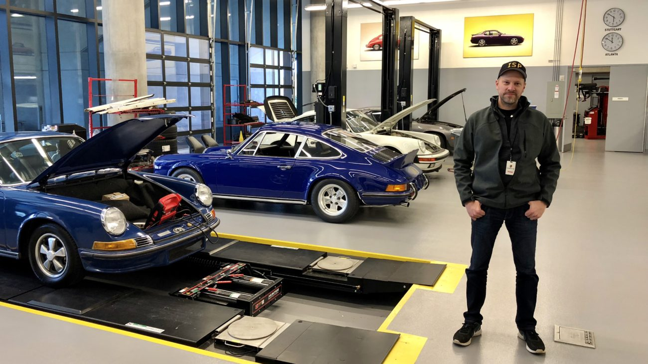 Porsche Factory Restoration Center Arne's Antics Tour