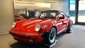 Porsche Factory Restoration Center Arne's Antics Tour 1973 911 2.7RS