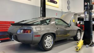 Porsche Factory Restoration Center Arne's Antics Tour 1984 928s