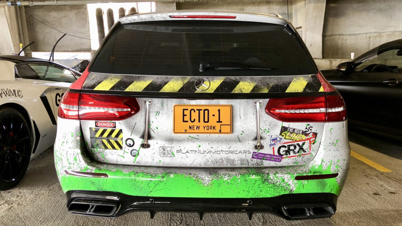 Ghostbusters ECTO 1 Mercedes-Benz E63 AMG Estate Arne's Antics