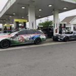 Ghostbusters E63 AMG Arne's Antics GoldRush Rally GRX